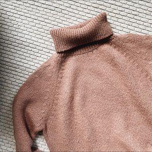 Pale Rose Pink Sweater